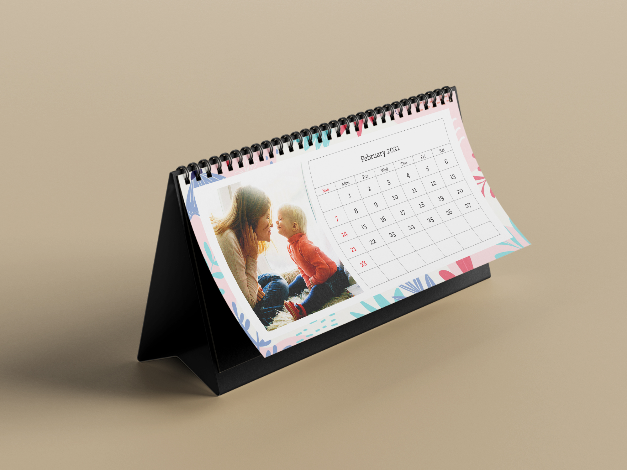 Custom Table Calendars | desk calendars