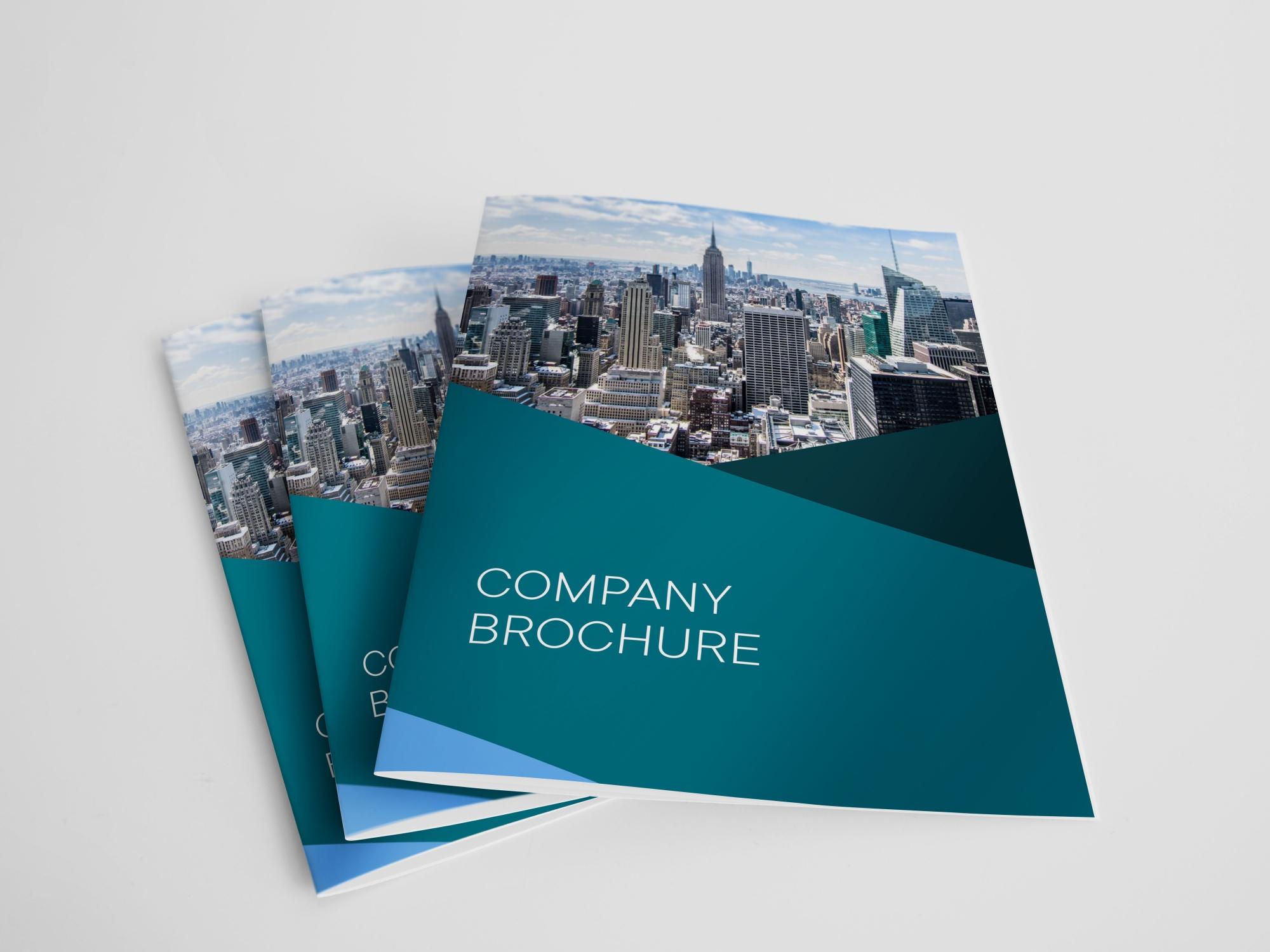 A4 Bi-fold brochures made by Kiakiaprint