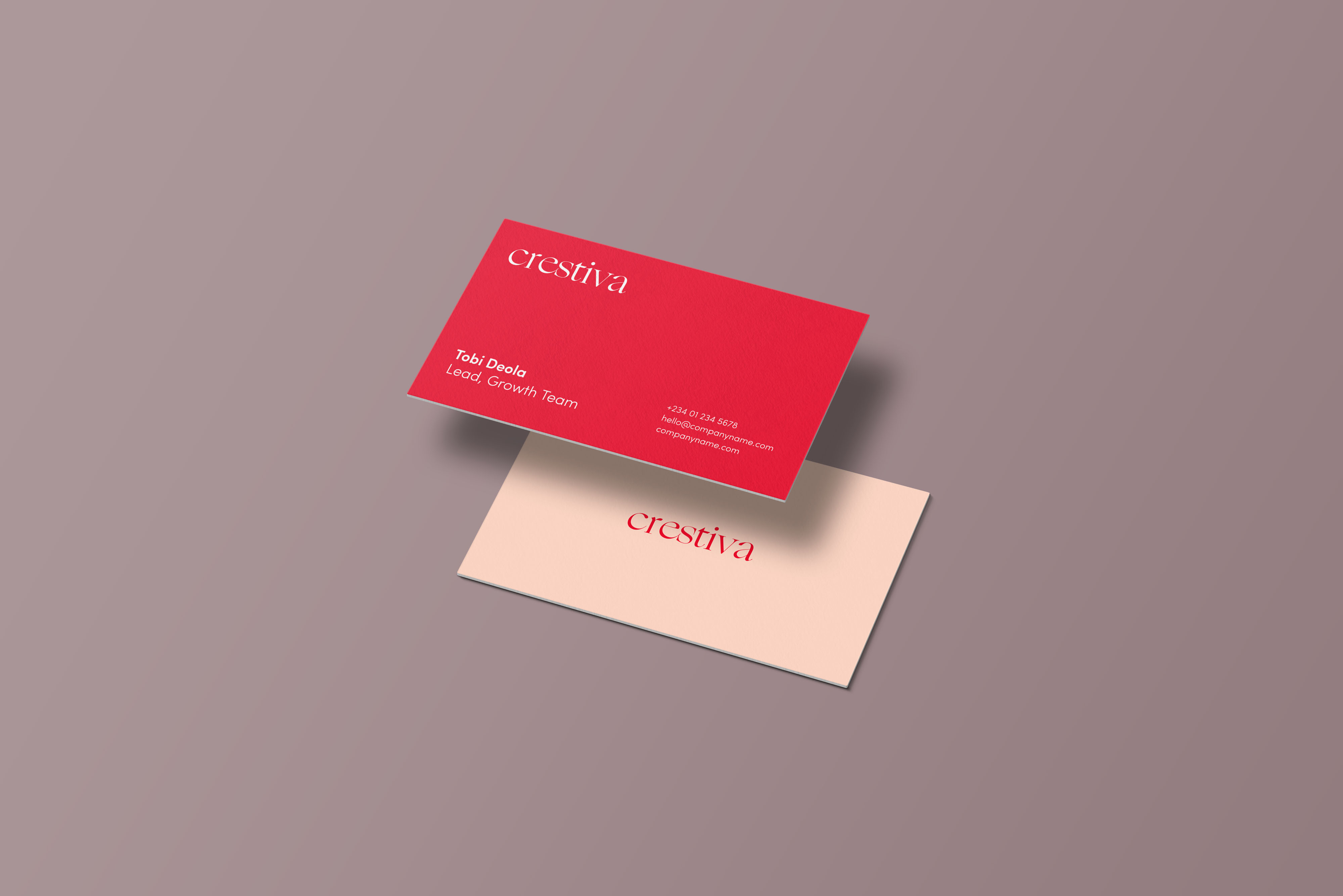Mini Business Cards printed