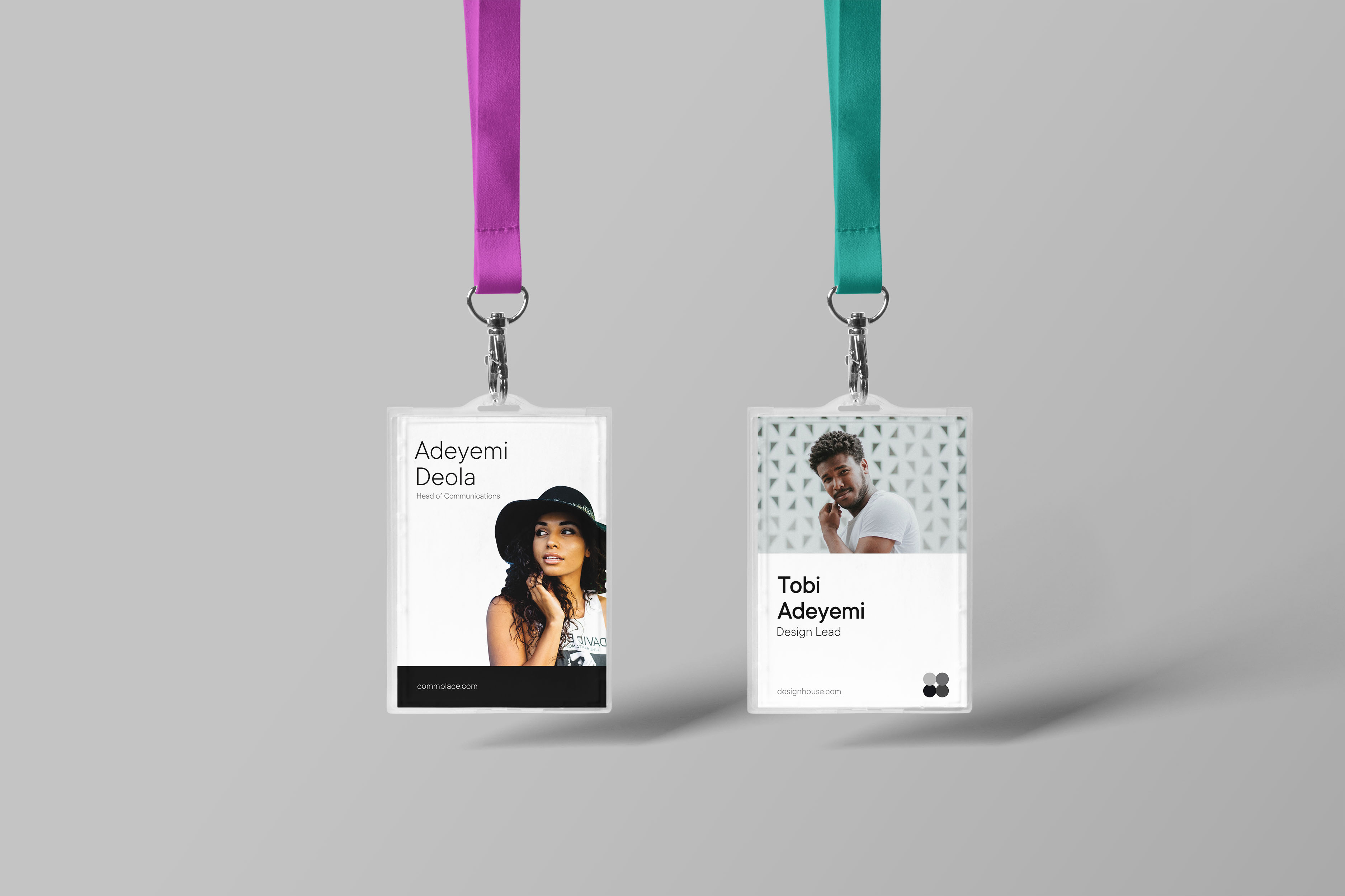 Business Portrait Identity Cards made in Nigeira