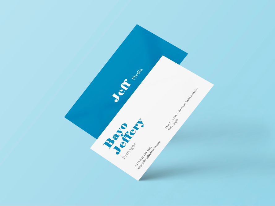 Double-sided Business Cards South Africa